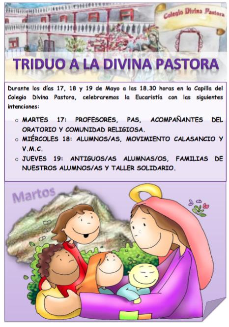 Triduo a la Divina Pastora 2016
